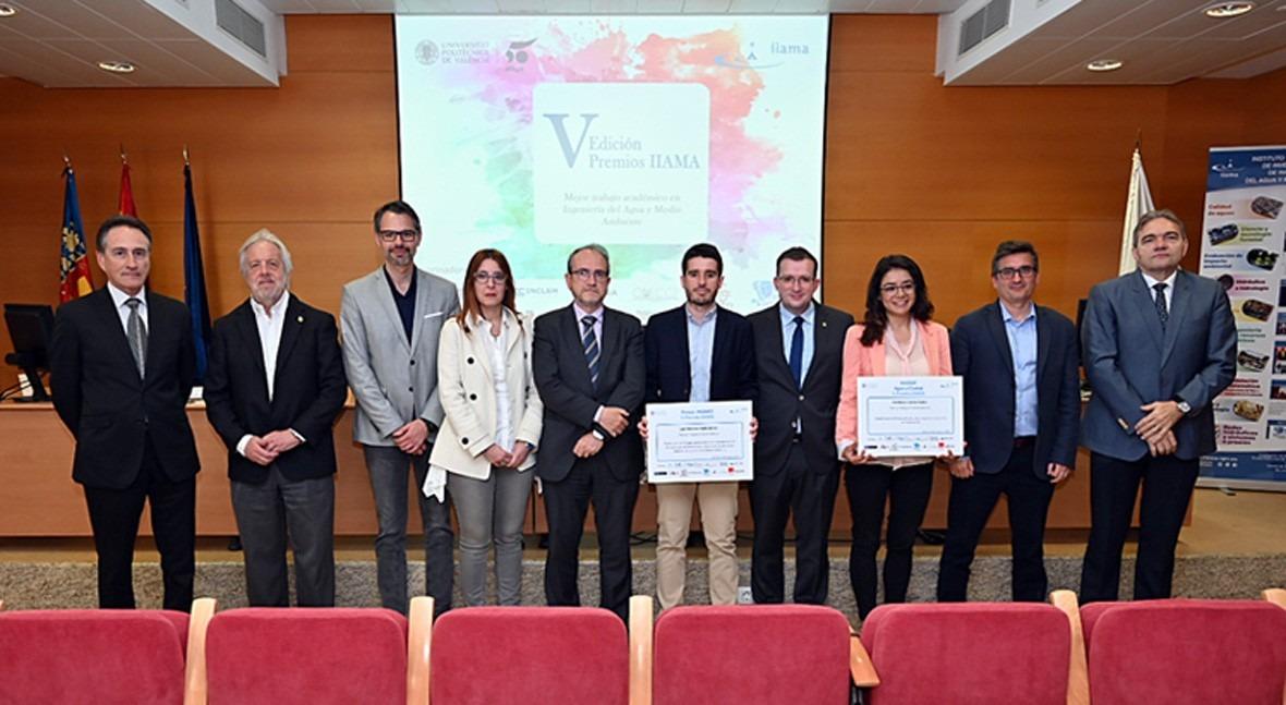 IIAMA entrega premios mejores Trabajos Académicos Ingeniería Agua