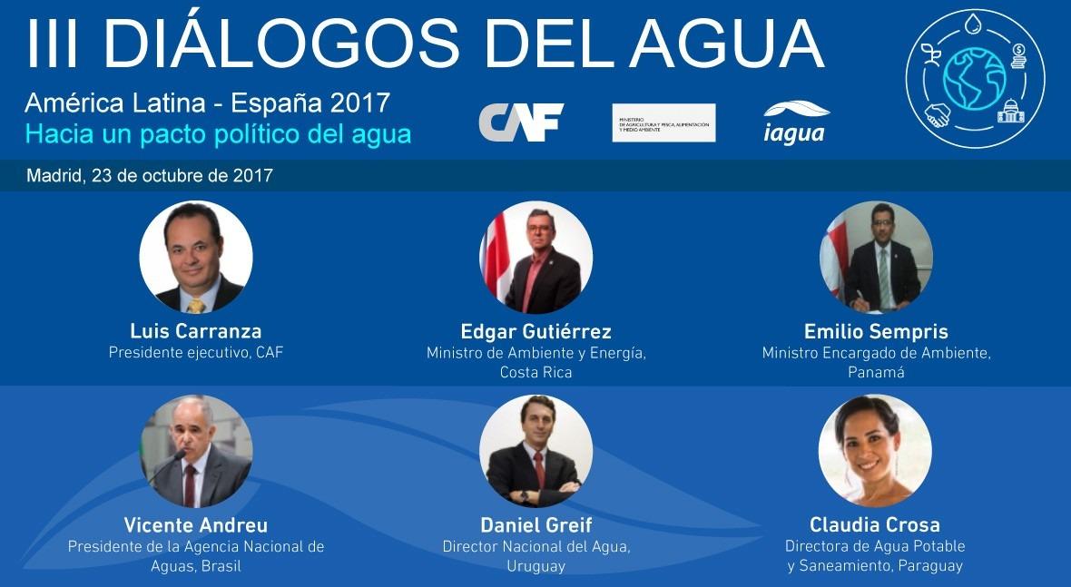 Diálogos Agua concentran mayor representación latinoamericana evento agua