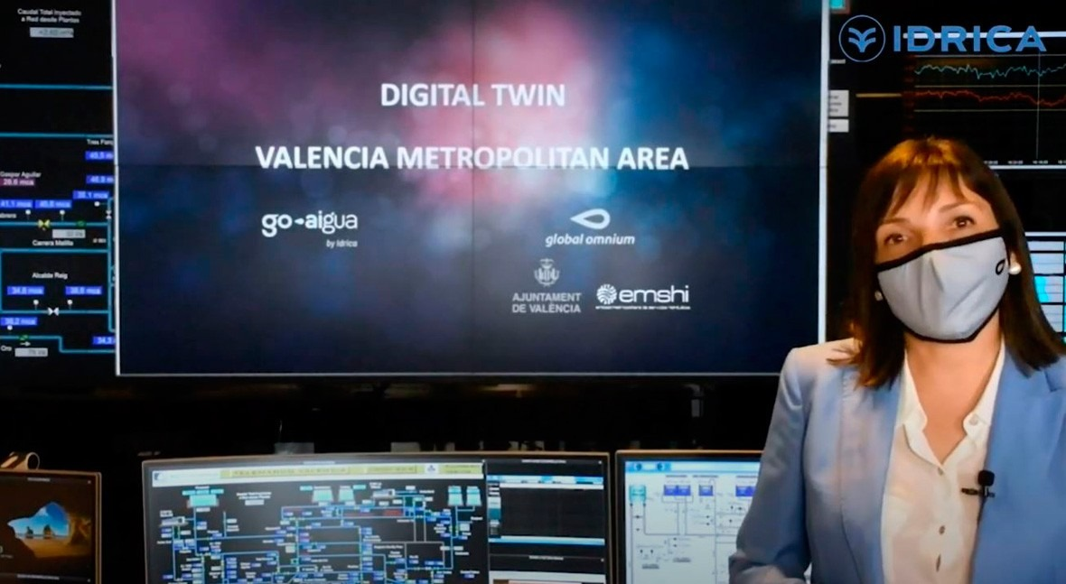 ¿ qué son gemelos digitales imprescindibles sector agua? Pilar Conejos responde