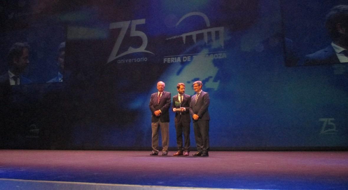 AEAS, galardonada 75 aniversario Feria Zaragoza colaboración SMAGUA