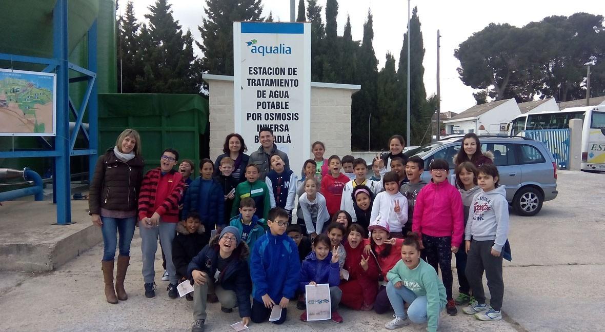 Aqualia abrirá puertas más 40 depuradoras Día Mundial Agua