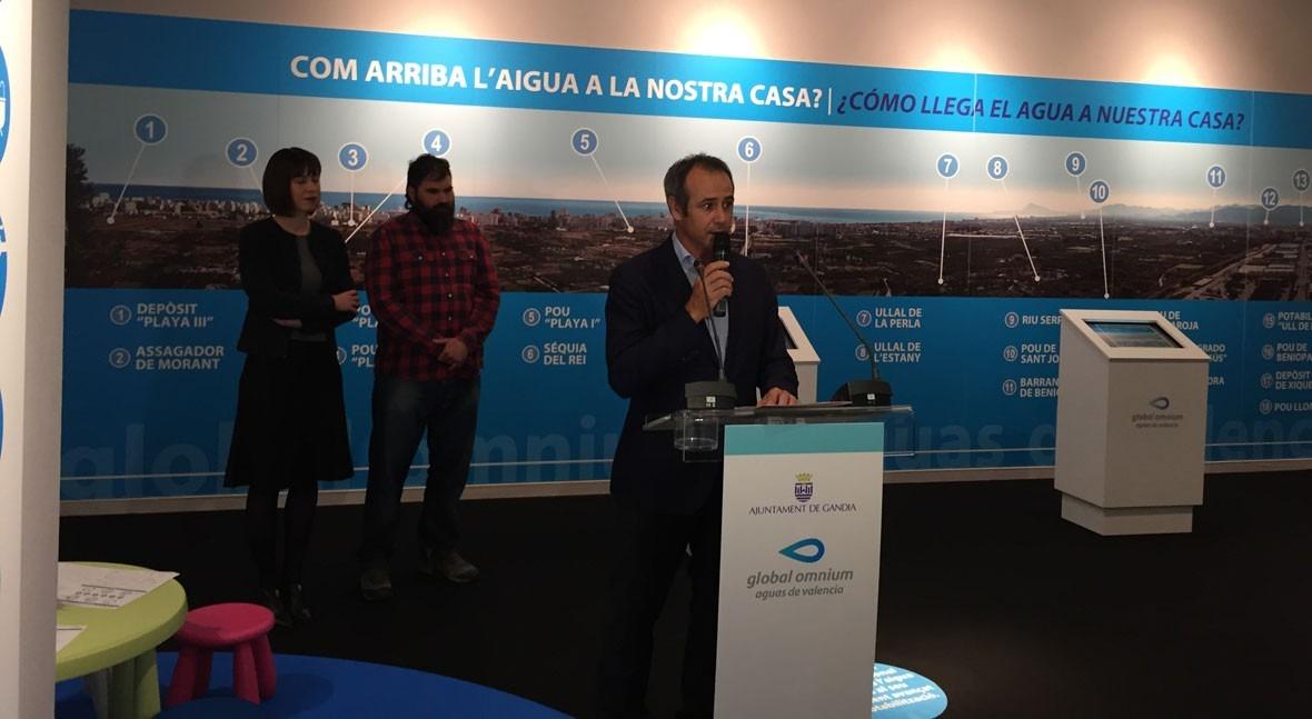 """Inaugurada """"GANDIA, fets d'aigua"""", exposición que divulga patrimonio hidráulico Gandía"""