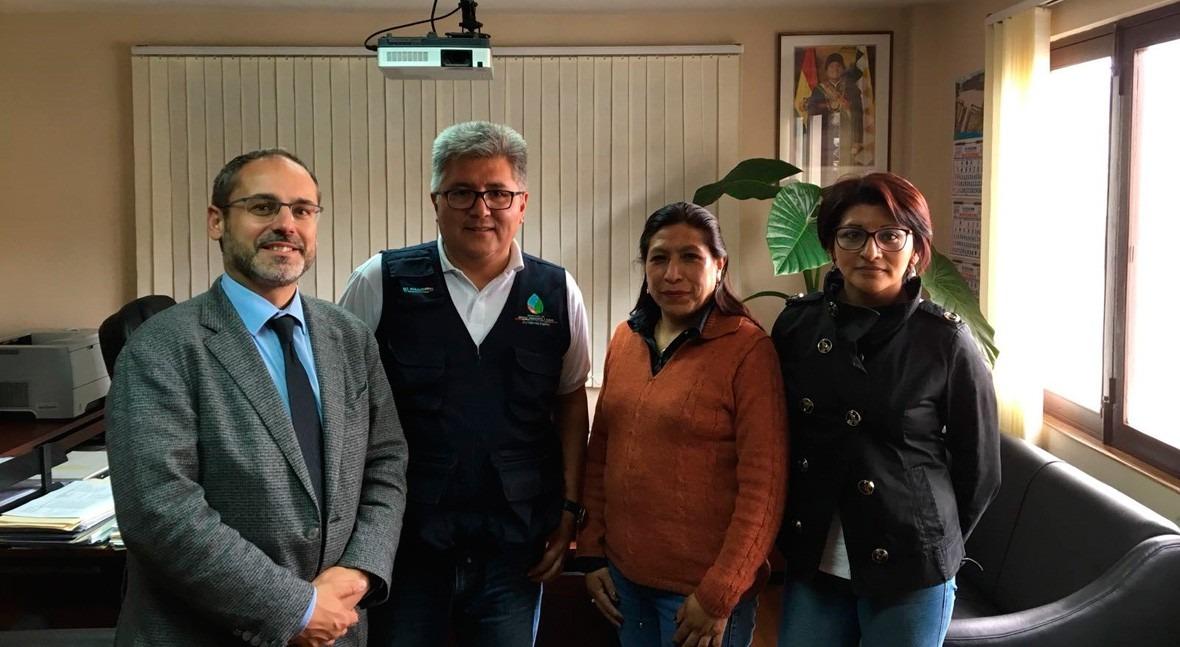 INCLAM firma Bolivia contrato regadío cuenca alta Río Grande