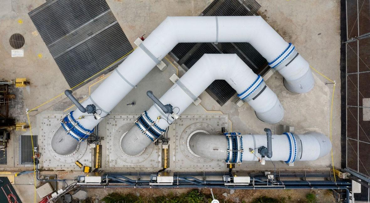 """Indar suministra 3 bombas sumergibles planta desalinizadora Claude """"Bud"""" Lewis Carlsbad"""
