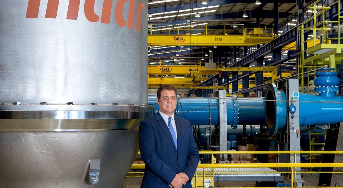 """N. Campo: """"Indar entrega tecnología rendimiento y operación adaptada sociedad actual"""""""