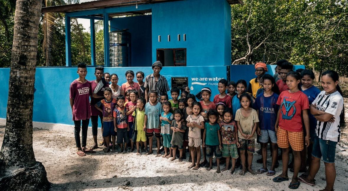 Líbano, Indonesia, Mozambique, India y Guatemala, algunos proyectos activos We Are Water
