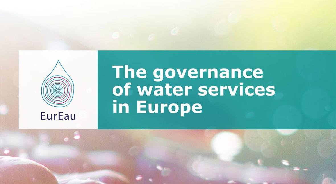 EurEau publica informe gobernanza servicios urbanos agua Europa