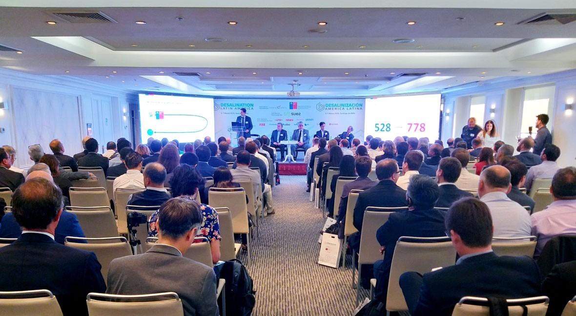 GS Inima, Conferencias Internacionales Desalación Chile