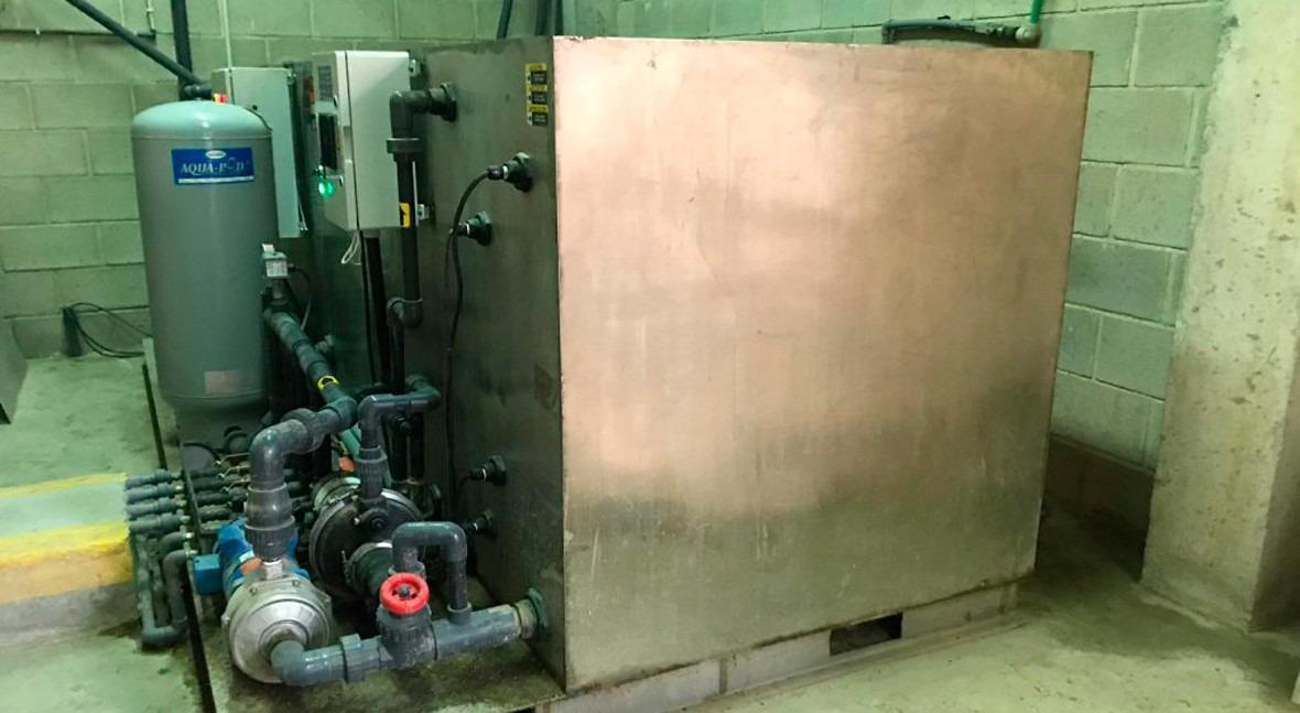 Reutilización, desinfección y oxigenación agua lavado