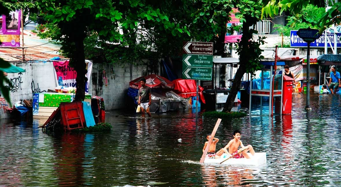 desarrollo urbano y impermeabilización territorio. ¿ qué se inundan ciudades?