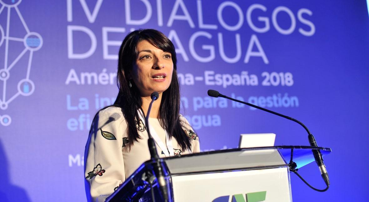 """I. Bombal: """" política regadíos es fundamental garantizar instrumentos innovación"""""""