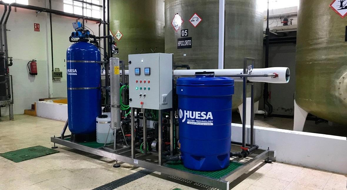 Adecuación agua al proceso productivo industria productos limpieza nacional