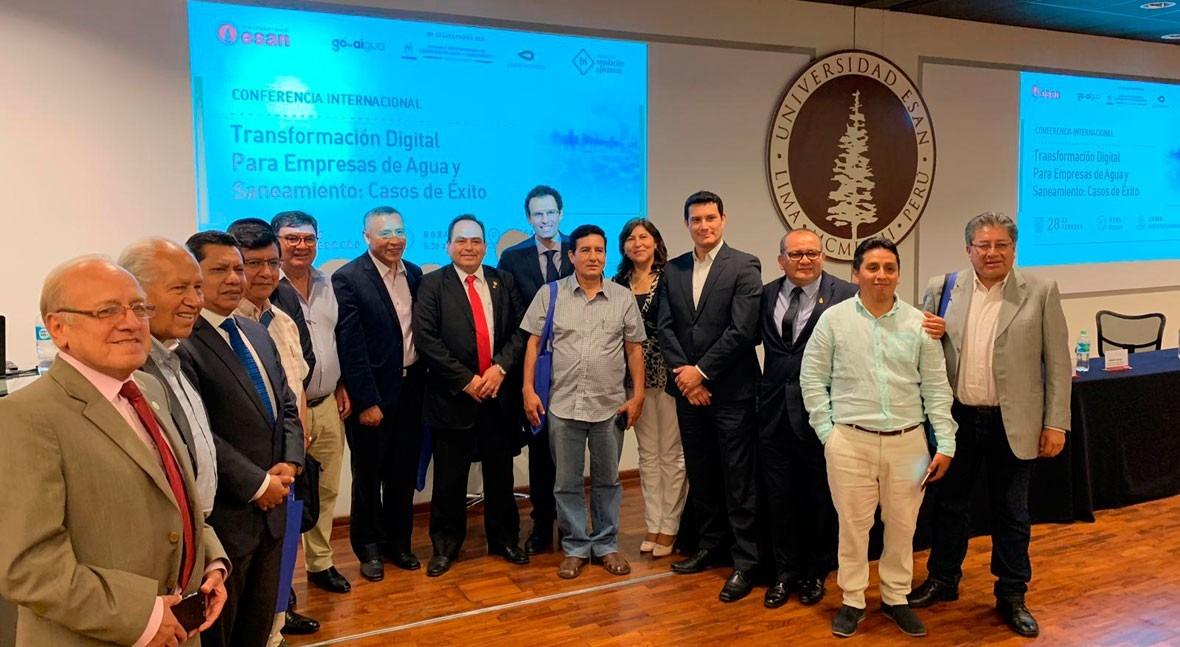 Global Omnium presenta Perú soluciones transformación digital sector agua