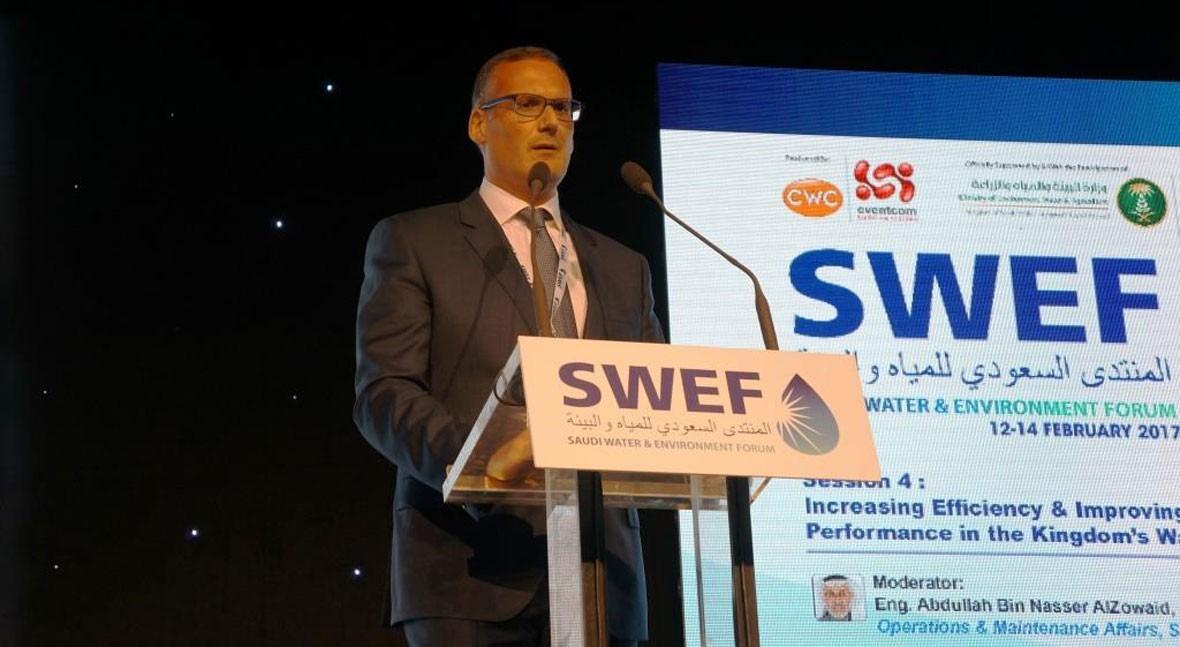 Aqualia cierra exitosa participación SWEF17 celebrado Riad, Arabia Saudí