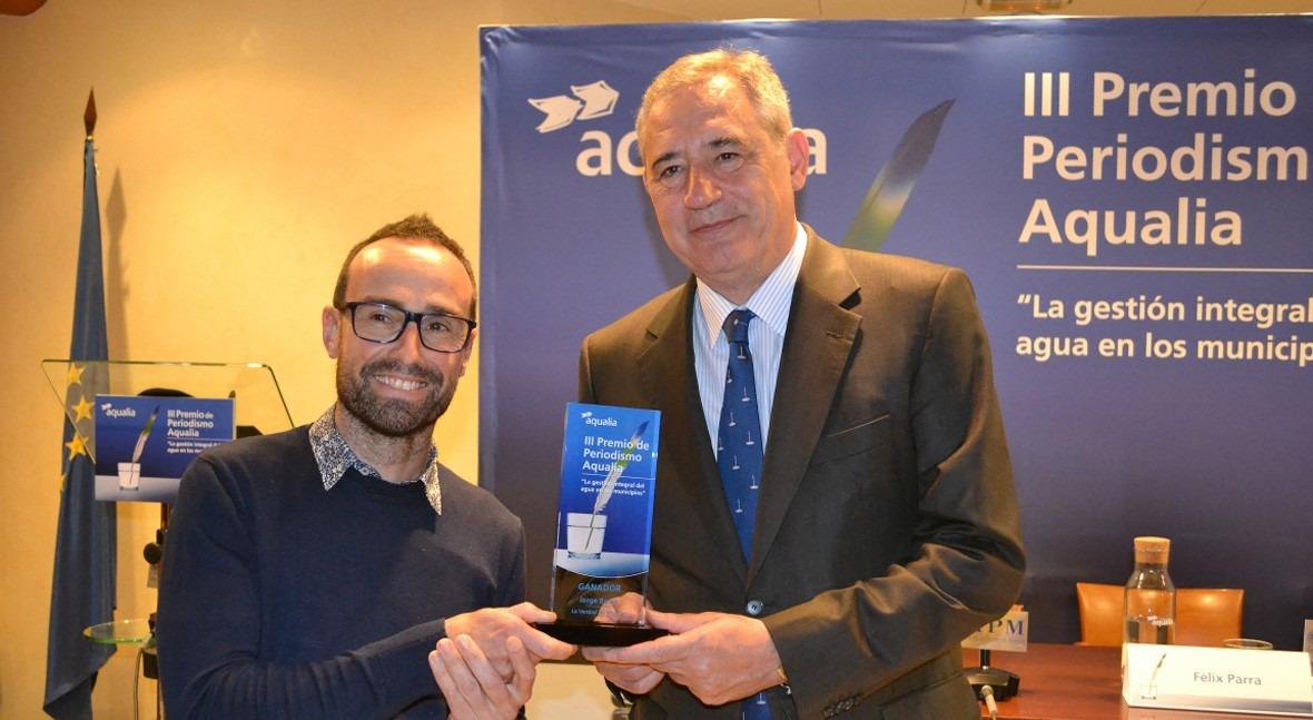 reportaje fraudes red abastecimiento gana III Premio Periodismo Aqualia