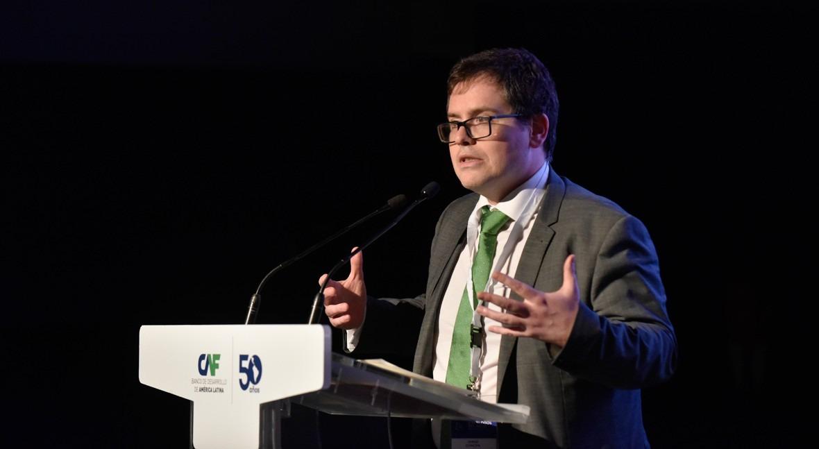 Jorge Concha, director de análisis y evaluación técnica de CAF