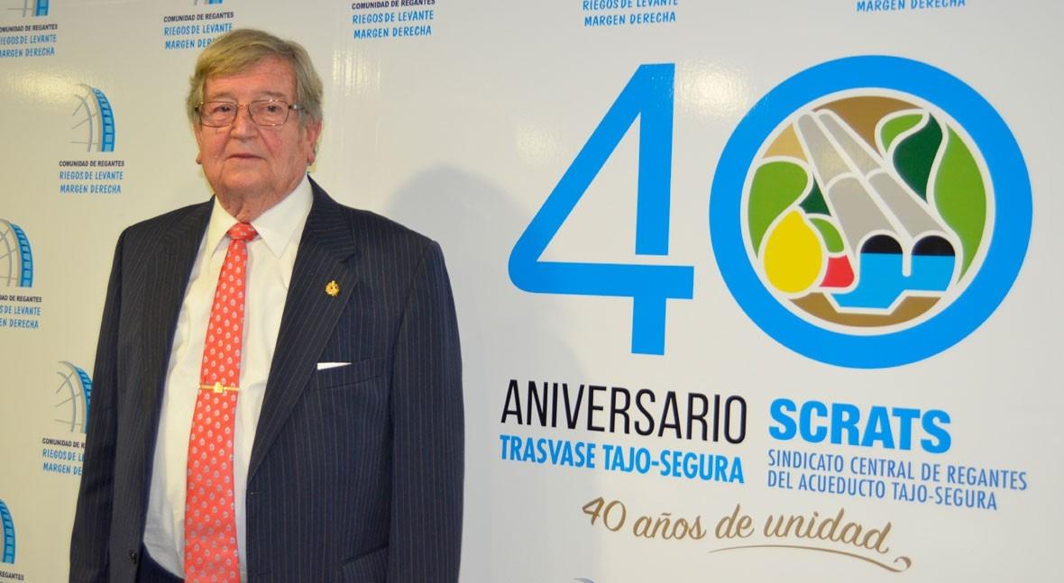 """José Andújar: """"No existe ninguna solución alternativa al trasvase sino, lo sumo, complementaria"""""""
