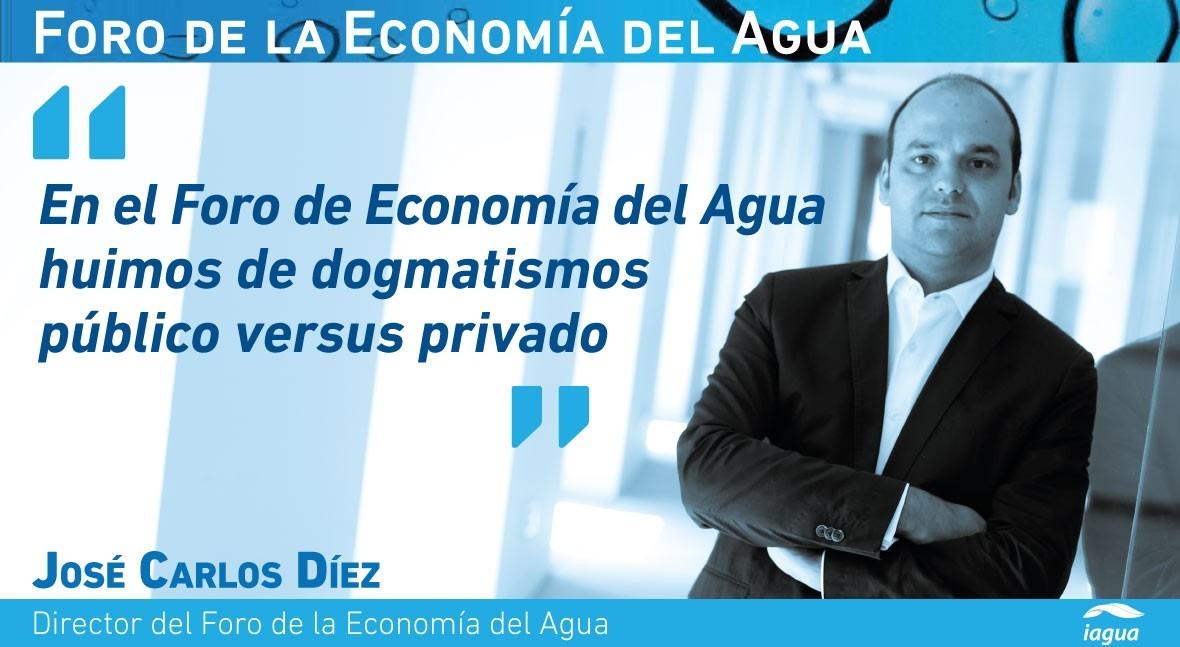 """José Carlos Díez: """" gestión directa agua empeoraría vida barceloneses"""""""