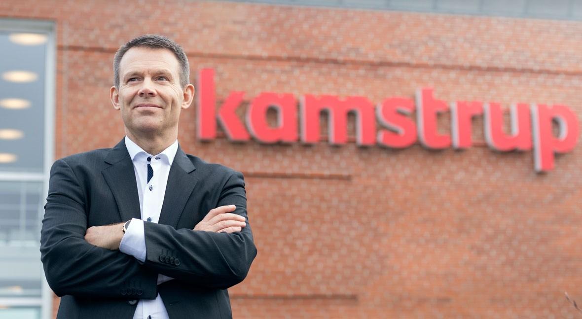 Kamstrup sigue creciendo nuevo año récord