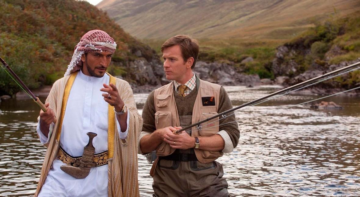 """"""" pesca salmón Yemen"""": historia hacer lo imposible"""