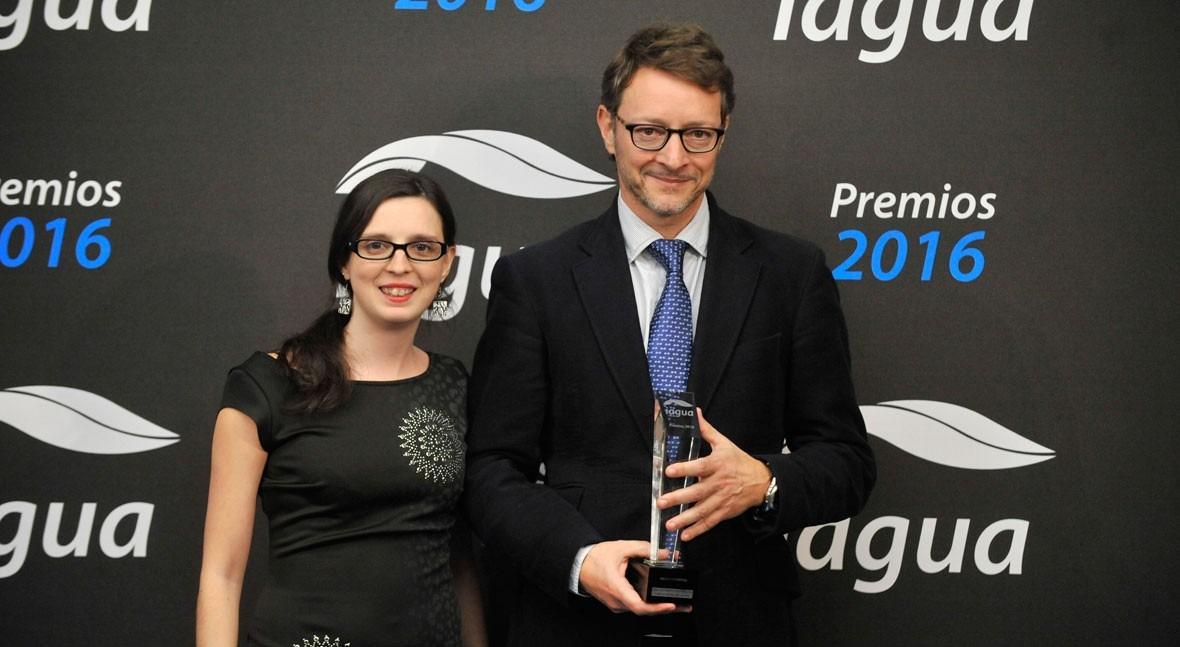 Fundación We Are Water se alza dos Premios iAgua Mejor Presentación y Mejor Reportaje