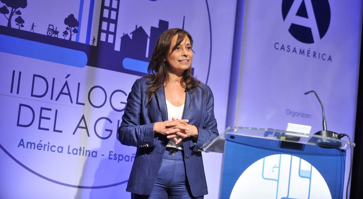 """Liana Ardiles: """" pacto político agua debe centrar discusión Diálogos Agua"""""""