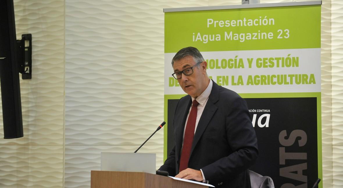 """M. Urrea: """" estado Mar Menor tiene relación directa e indudable presión humana"""""""