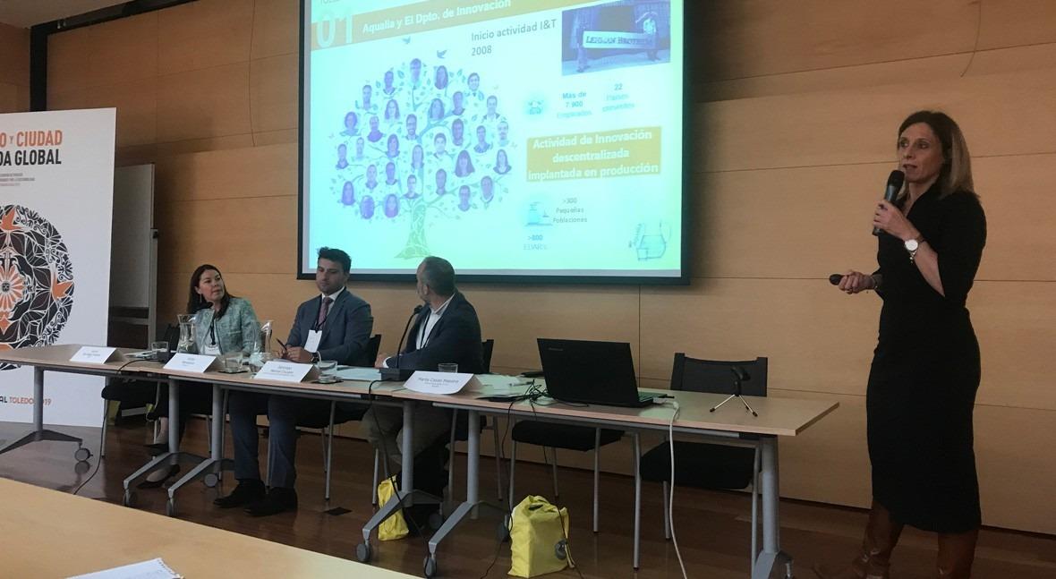 Aqualia presenta CONAMA Local Toledo modelo gestión eficiente agua