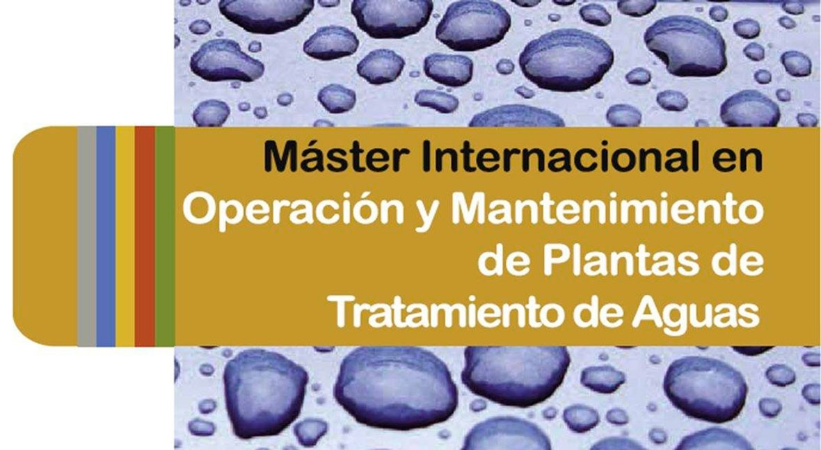 ACCIONA Agua, Patrocinador Oro Máster Internacional O&M plantas tratamiento