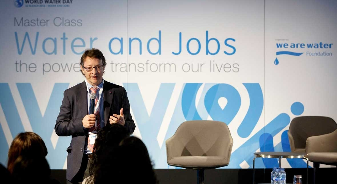 agua genera trabajo: Conclusiones Master Class 'Water and Jobs' Barcelona