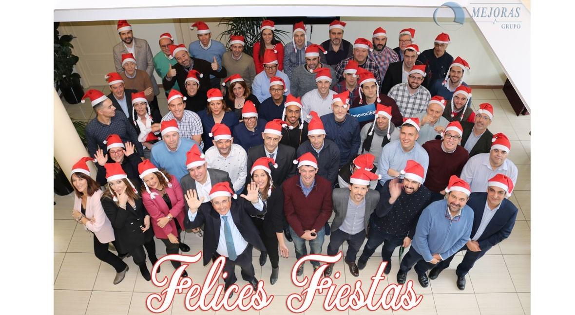 Grupo Mejoras felicita Navidad
