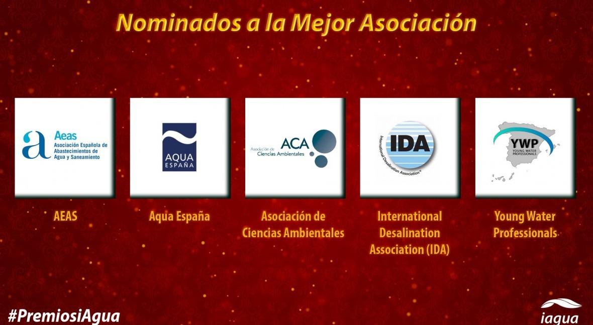 Conoce candidatos Mejor Asociación Premios iAgua 2018