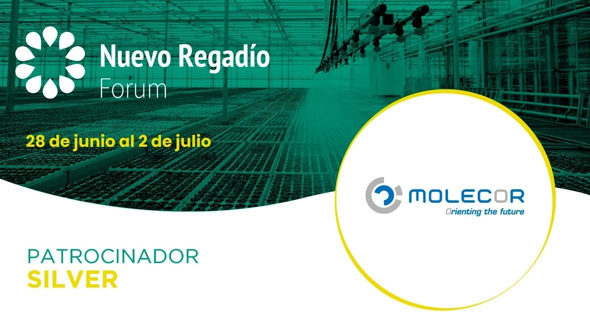 Molecor, líderes Tecnología Orientación Molecular, Silver Sponsor Nuevo Regadío Forum