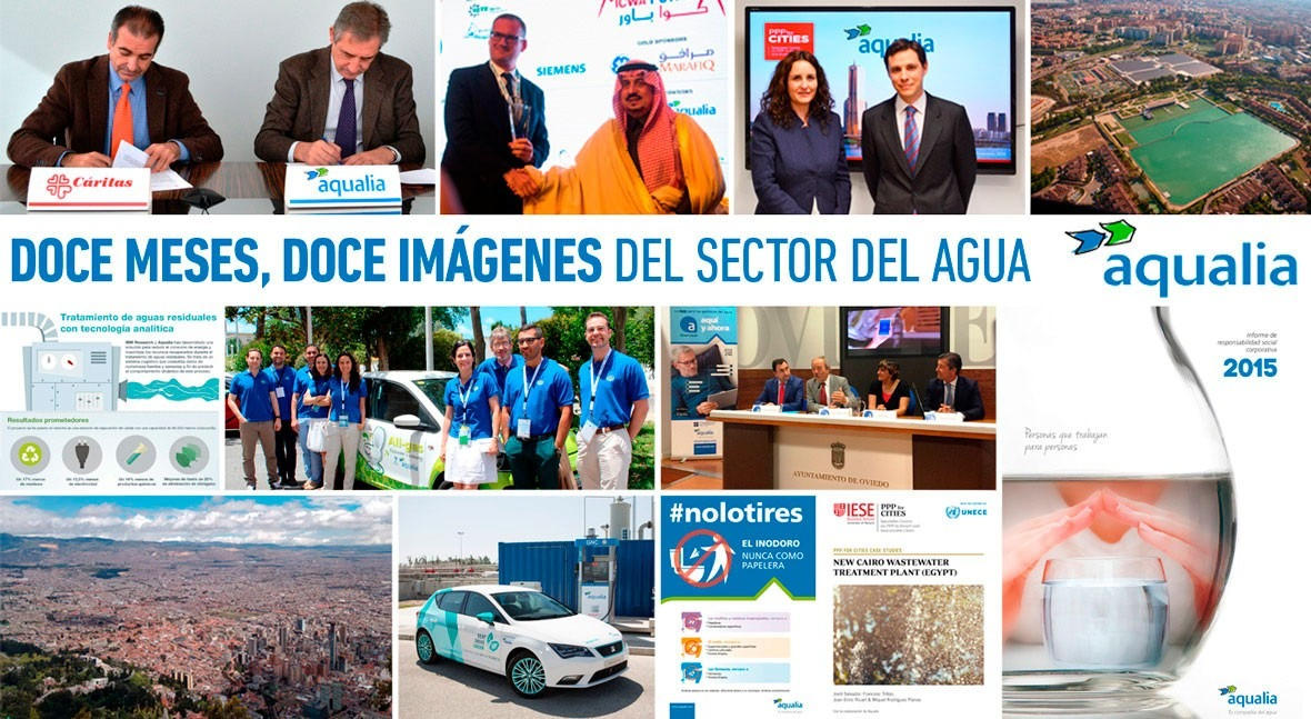 12 meses, 12 imágenes sector agua