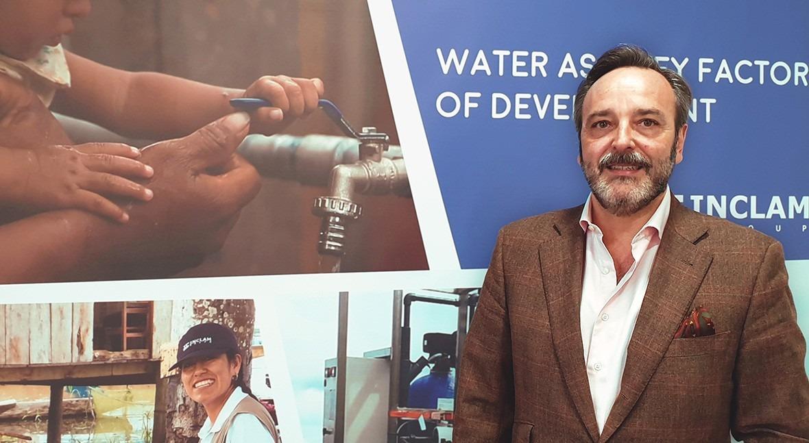 """ plantas potabilizadoras modulares INCLAM permiten llevar agua potable donde no había"""