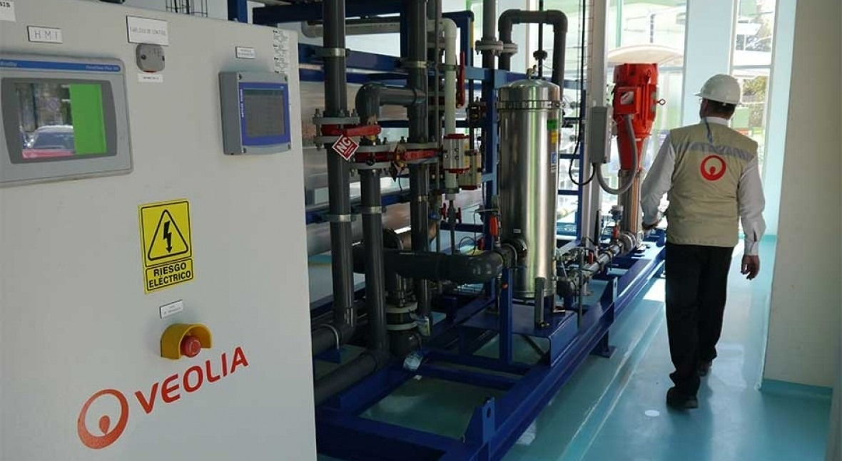 Nestlé recupera agua leche tecnología Veolia
