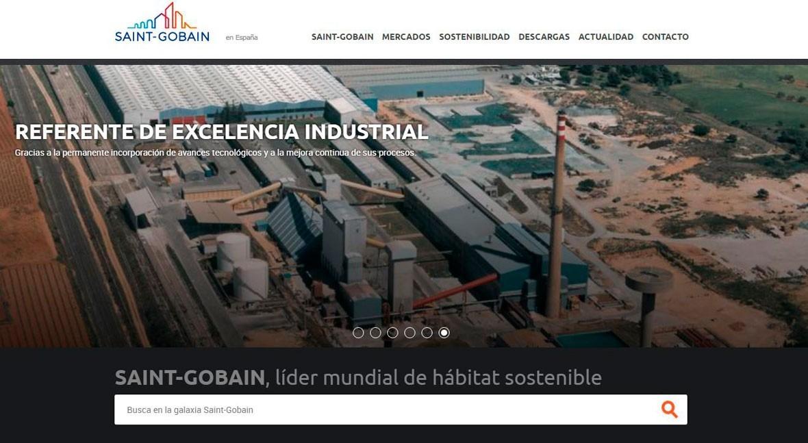 Saint Gobain lanza nueva web España