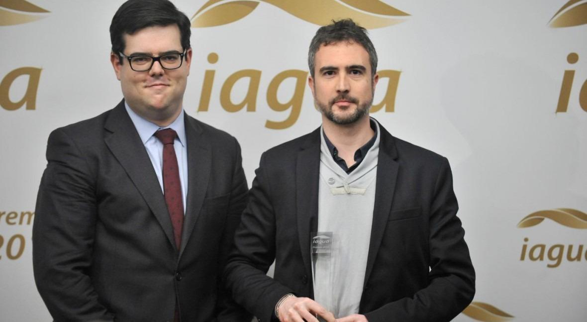 Jordi Oliveras gana Premio iAgua al Mejor Blog