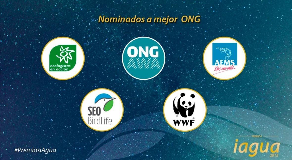 5 organizaciones se disputan Premio iAgua Mejor ONG