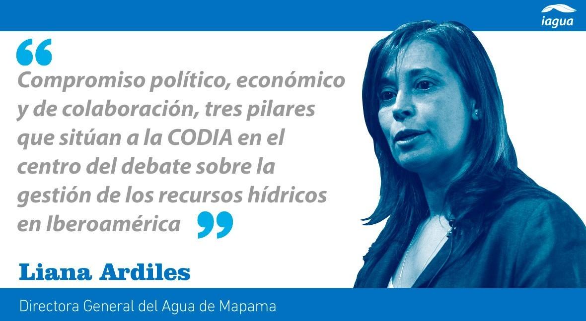 España: Compromiso agenda agua Latinoamérica