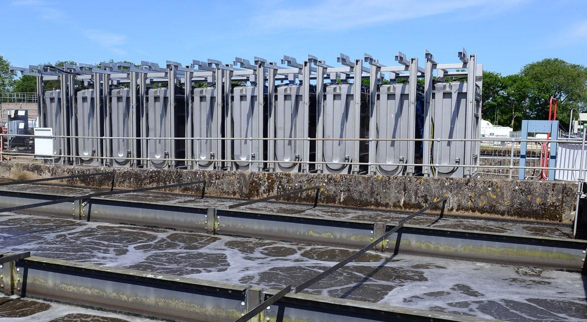 plantas tratamiento aguas residuales se renuevan OxyMem lograr mayor capacidad