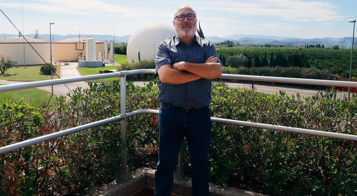 """Paco Muñoz: """" huella hídrica nos permite conocer impactos depuración aguas"""""""