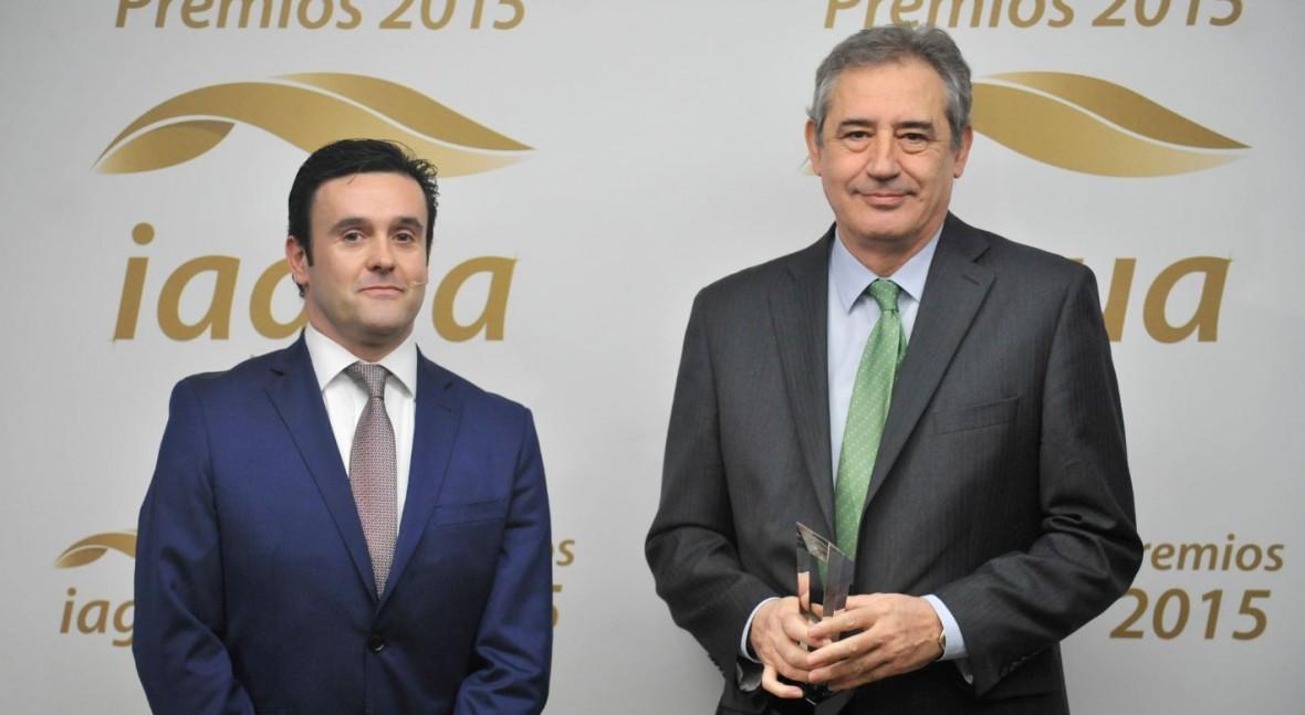 Aqualia se alza Premio iAgua 2015 Mejor Entidad