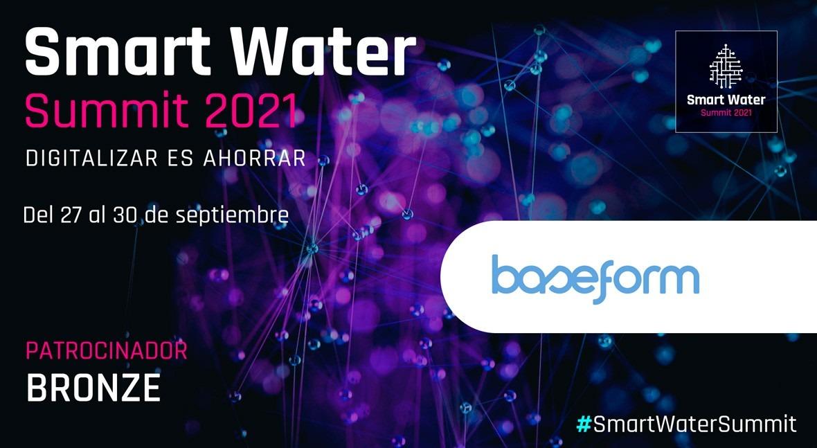 Baseform será Bronze Sponsor Smart Water Summit 2021