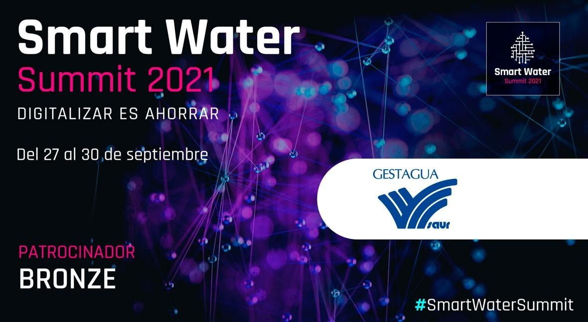 Gestagua será Bronze Sponsor Smart Water Summit 2021