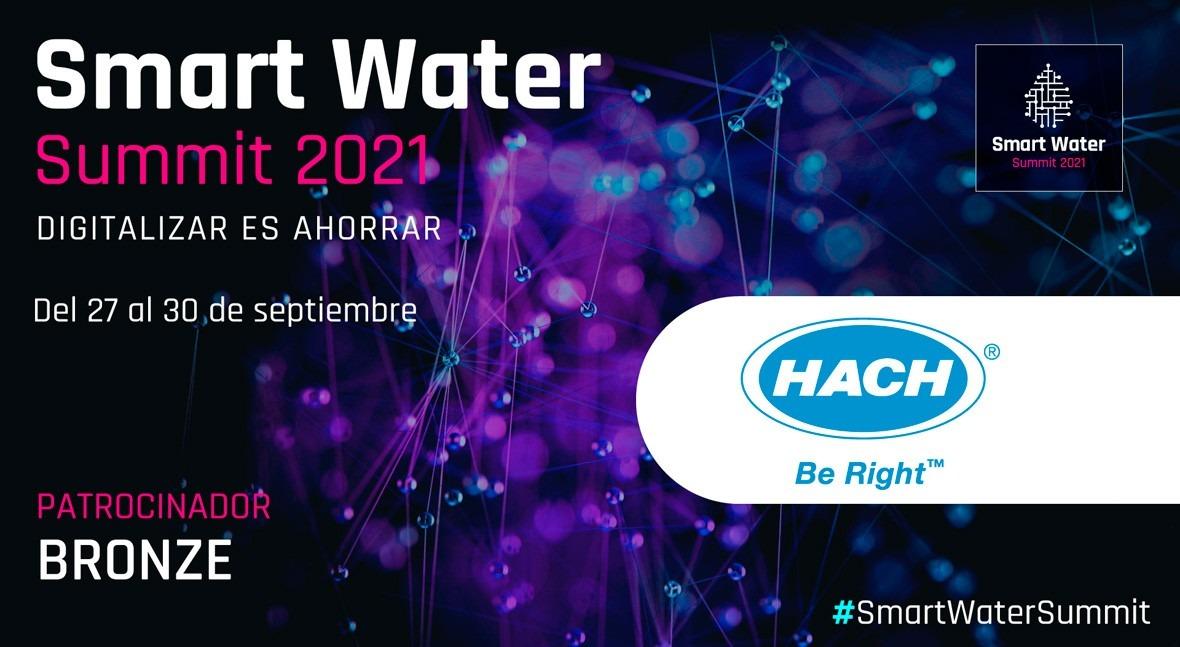 Hach será Bronze Sponsor Smart Water Summit 2021