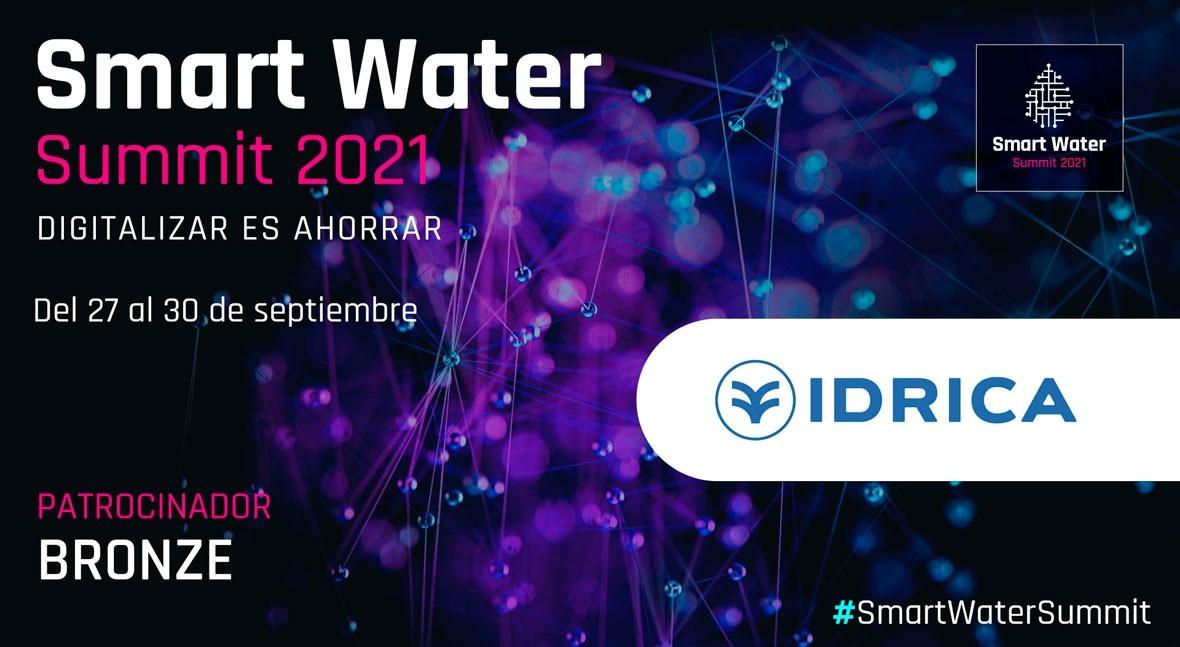 Idrica será Bronze Sponsor Smart Water Summit 2021
