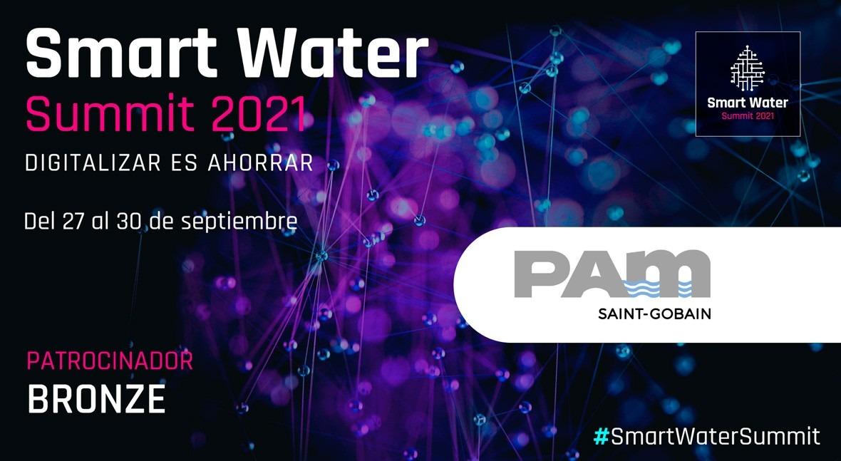 Saint-Gobain PAM será Bronze Sponsor Smart Water Summit 2021