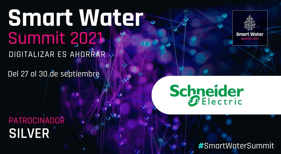 Schneider Electric será Silver Sponsor Smart Water Summit 2021