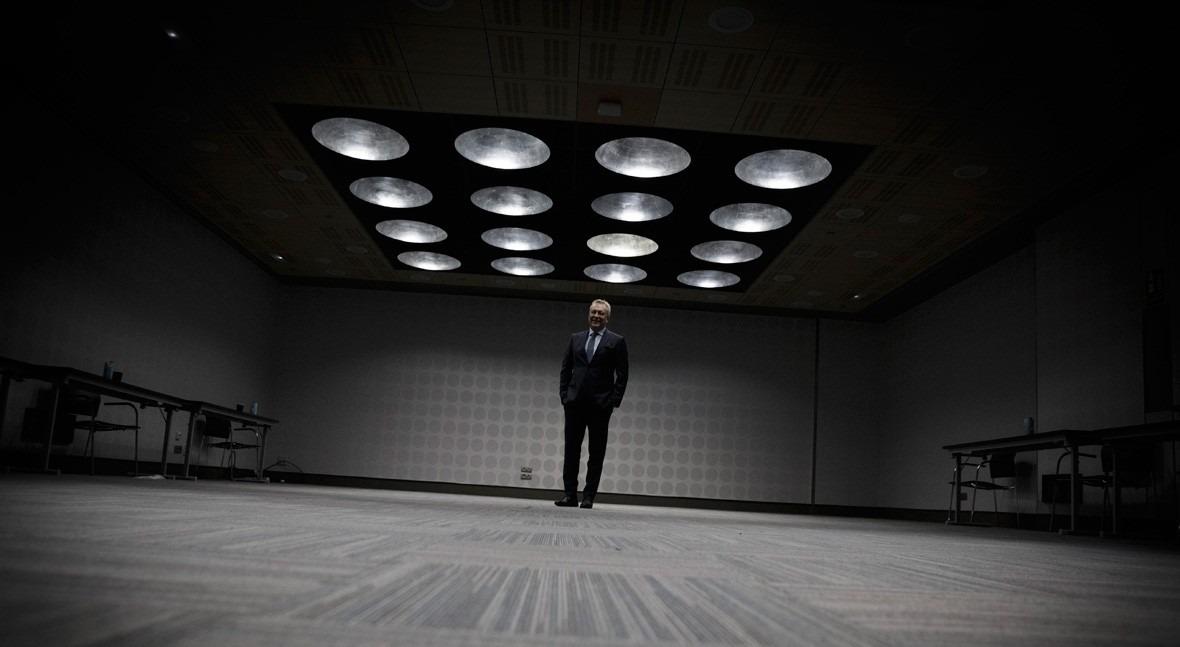 Patrick Blethon, presidente ejecutivo de Saur (Foto: Guillermo Martínez).